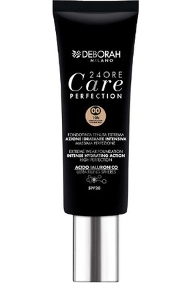 Deborah Milano Ore24 Care Perfection Fondöten 00 Ivory 30 ml