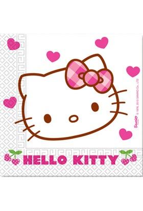 Kikajoy Hello Kitty Hearts Kağıt Peçete