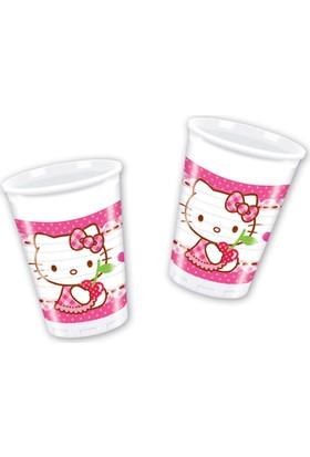 Kikajoy Hello Kitty Hearts Plastik Bardak