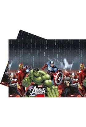 Kikajoy Avengers Plastik Masa Örtüsü