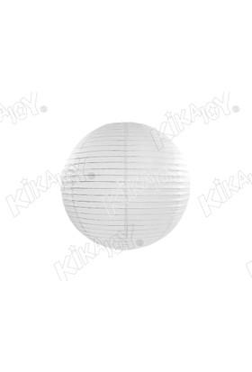 Kikajoy Beyaz Renk Japon Feneri 20 cm