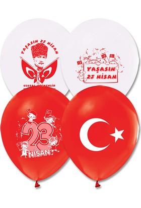Kikajoy 23 Nisan Baskılı Balon