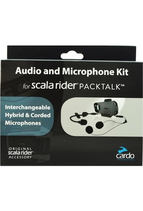 SCALA RIDER SRAK0032 (PACKTALK-SMARTPACK) AUDIO VE MIKROFON SET