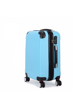 ABS Valiz 3lü Set Mavi