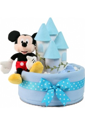Baby Muu Mickey Mouse Şato Bez Pasta