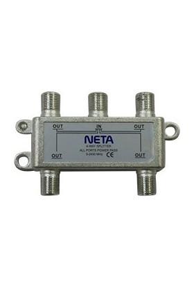 Neta 1/4 Splitter 5-2400 Mhz