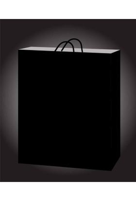 Kikajoy 11x11 Karton Çanta - Siyah