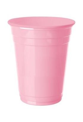 Kikajoy Plastik Meşrubat Bardağı Pembe