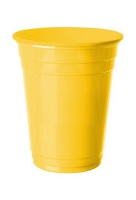 Kikajoy Plastik Meşrubat Bardağı Sarı