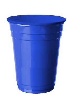Kikajoy Plastik Meşrubat Bardağı Lacivert