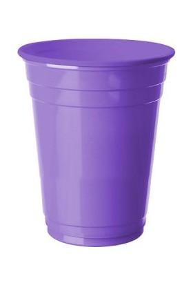 Kikajoy Plastik Meşrubat Bardağı Lila