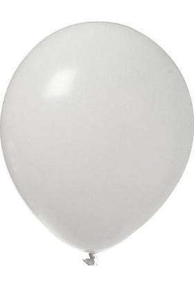 Kikajoy Baskısız Pastel Balon Beyaz