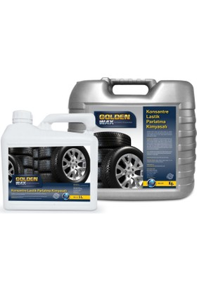 Goldenwax Konsantre Jel Lastik Parlatıcı Ve Lastik Koruyucu Kimyasalı 25Kg