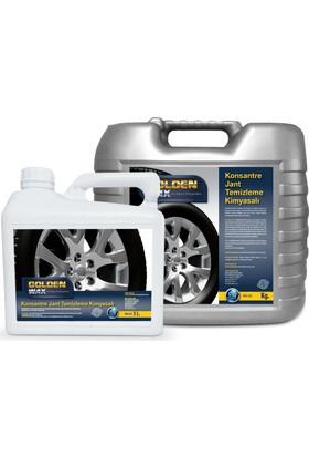 Goldenwax Konsantre Ekstra En Güçlü Gerçek Jant Temizleme 5Kg - Jant Parlatıcı Kimyasalı Ve Koruması