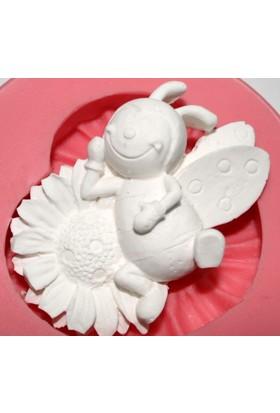 Pasta Mağaza Arı Maya Silikon,Mum,Kokulu Taş Kalıbı