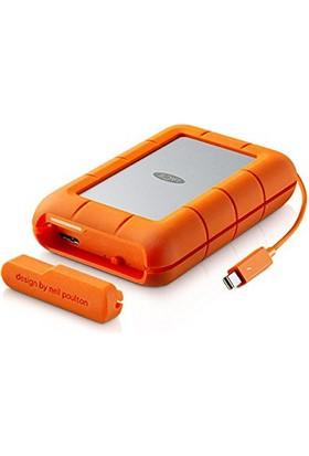"Lacie Rugged 4TB 2.5"" Thunderbolt & USB 3.0 Raid 0,1 Taşınabilir Disk STFA4000400"