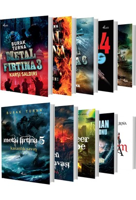 Metal Fırtına Serisi Seti (10 Kitap) - Burak Turna