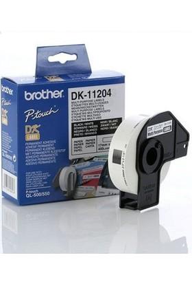 Brother P-Touch Çok Amaçlı Etiket 17Mm X 54Mm Dk11204