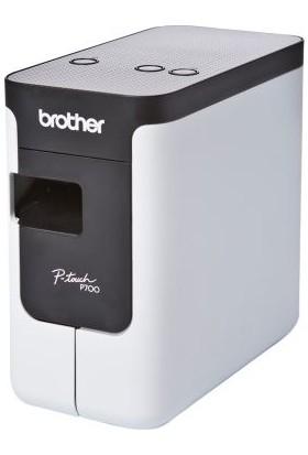 Brother Ptp700 Etiketleme Makinesi Bilgisayar Bağlantılı