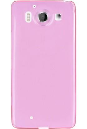 Gpack Microsoft Lumia 950 Kılıf 02Mm İnce Silikon