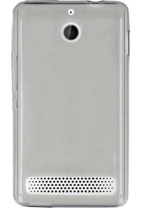 Gpack Sony Xperia E1 Kılıf 02Mm İnce Silikon