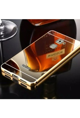 Gpack Huawei Mate S Kılıf Aynalı Metal Bumper