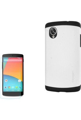 Gpack Lg Nexus 5 Kılıf Slim Case Armor Kapak + Cam