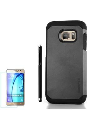 Gpack Samsung Galaxy A3 2016 Kılıf Slim Case Armor ı +Kalem+ Cam