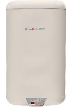 Termodinamik İkiztank Flat 60 Lt Elektrikli Termosifon