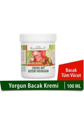 Krauterhof Kırmızı Asma Yaprağı ve At Kestanesi Ekstreli Bacak Kremi 100 ML