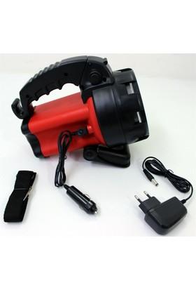 Watton 10W Cree Led Şarjlı Projektör 4-8 Saat 375501