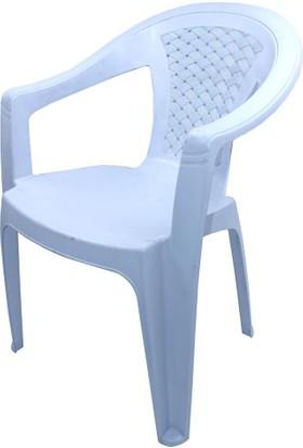 Homecare Plastik Kolçaklı Sandalye 150319