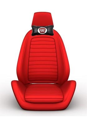 Simoni Racing Fiat Logolu Deri Ortopedik Boyun Yastığı