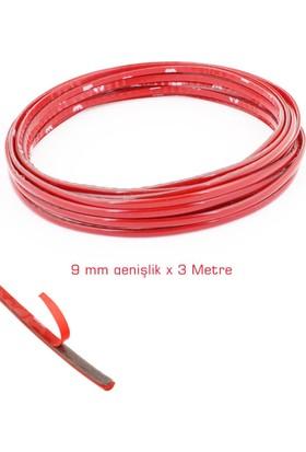 Modacar 3 Metre X 9 Mm Parlak Kırmızı Dekoratif Çita 16A060