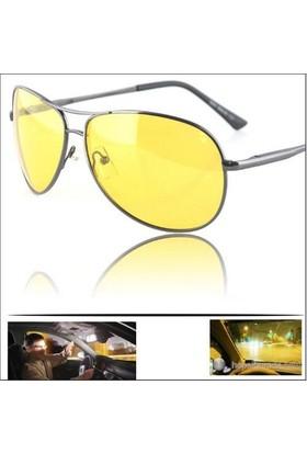 Modacar 4 Mevsim Kullanım Sürüş Gözlüğü Sis Gözlüğü + Gözlük Tutucu Hediyeli 33C005