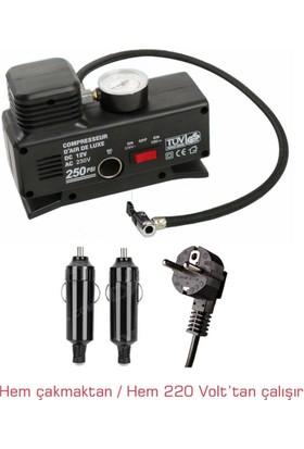 Sonax 220 / 12 Volt Metal Şişirici Hava Kompresörü 57B008