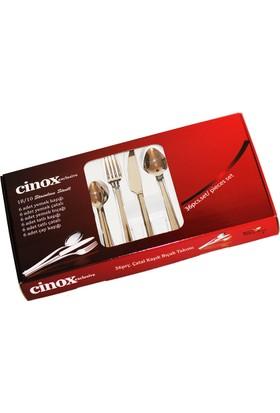 Cinox 36 Parça Çatal Kaşık Bıçak Takımı