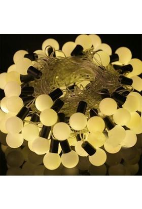 Pandoli Gün Işığı Renkli 50 Ampullü Yılbaşı Top Led Işık 4.5 Metre