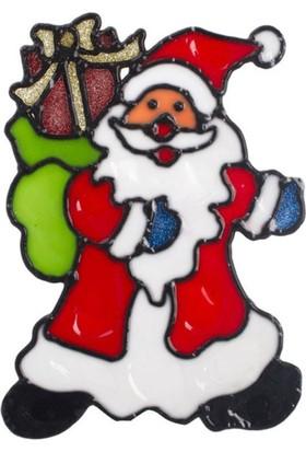 Pandoli Noel Baba Temalı Yılbaşı Sticker 18 Cm
