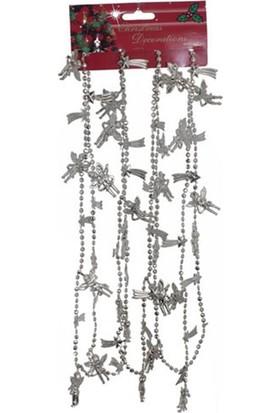 Pandoli Yılbaşı 180 Cm Melek Zincir Gri
