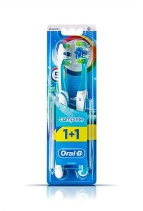 Oral-B Diş Fırçası Complete 5 Yönlü Temizlik 40 Orta 1 Alana 1 Bedava Paketi