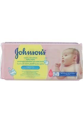 Johnsons Baby Temizleme Mendili Kremli 64 lü