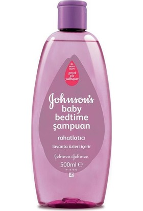 Johnsons Baby Bedtime Şampuan 500 ML
