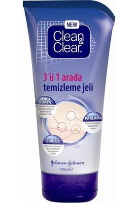 Clean&Clear 3 ü 1 Arada Temizleme Jeli 150 Ml
