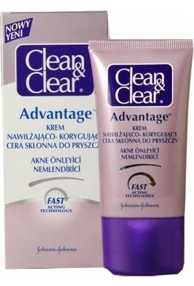 Clean Clear Advantage Problemli Ciltler İçin Yüz Nemlendirici