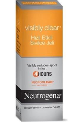 Neutrogena Visibly Clear Hızlı Etkili Akne Jeli 15 Ml