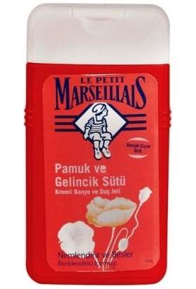 Le Petit Marseillais Gelincik Pamuk Sütü Duş Jeli 250 Ml