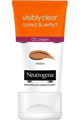Neutrogena Visibly Clear Correct & Perfect Cc Krem Orta Ton 5