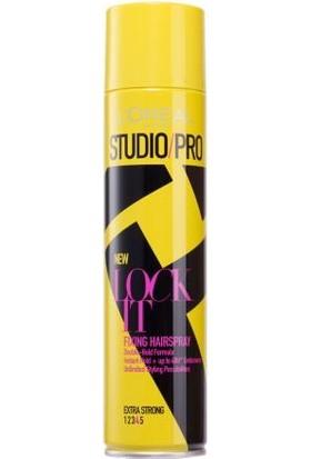 Studio Pro Lock It Sabitleyici Ekstra Güçlü Sprey - 4 400 Ml