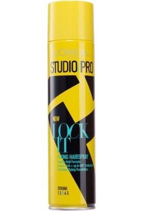 Studio Pro Lock It Sabitleyici Güçlü Sprey - 3 400 Ml